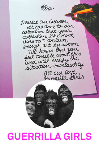 guerrilla girls art products at third drawer down