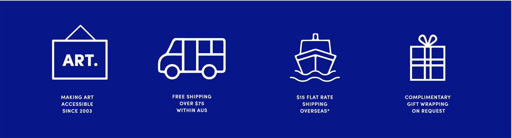 Flat Rate Shipping