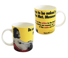 Met. Museum Mug X Guerrilla Girls Ceramic Third Drawer Down