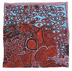 Third Drawer Down X Yayoi Kusama, Eyes of Mine Handkerchief
