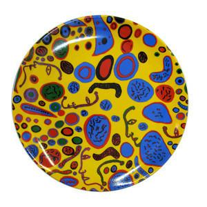 Third Drawer Down X Yayoi Kusama, Love Was Infinitely Shining Ceramic Plate
