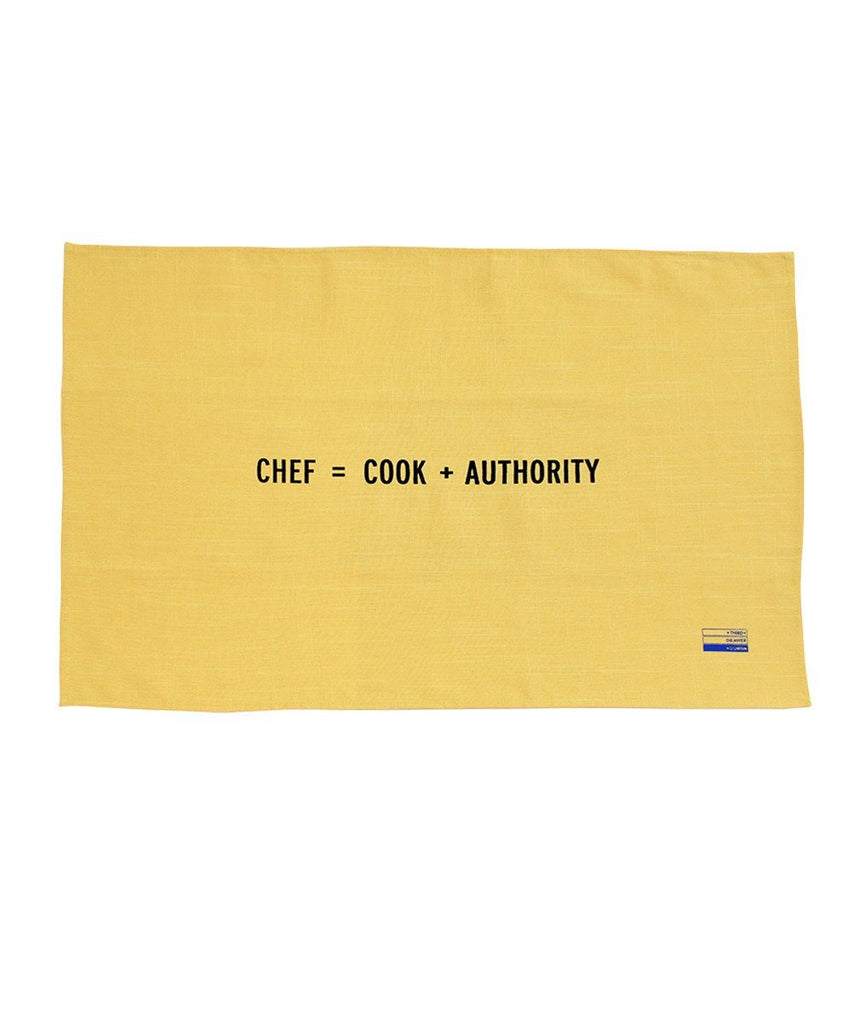 Third Drawer Down X Craig Damrauer, New Math Collection Tea Towels Textile Third Drawer Down Chef