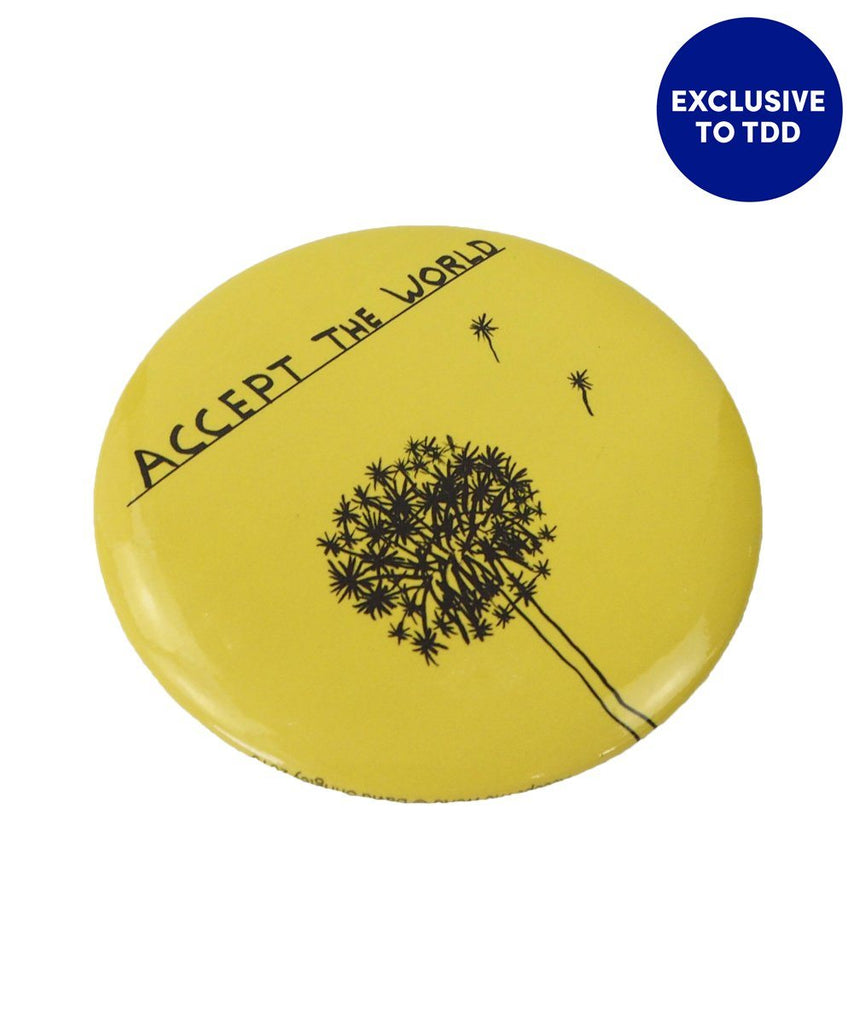 Accept The World Pocket Mirror x David Shrigley accessories Third Drawer Down