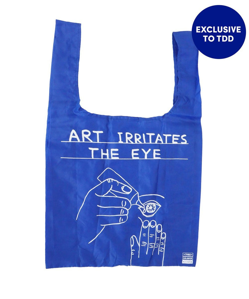 Art Eye Shopper Bag x David Shrigley Misc Third Drawer Down