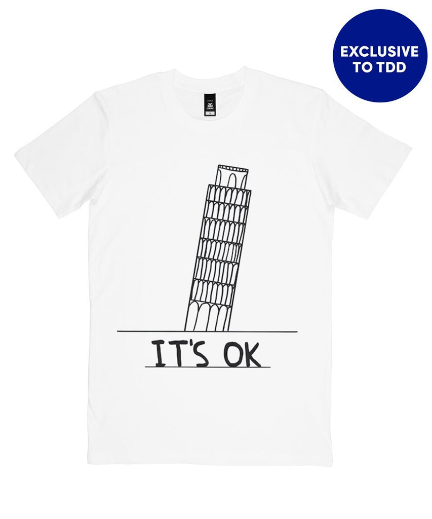 It's OK T-Shirt X David Shrigley Textiles Third Drawer Down