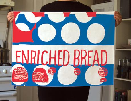 Enriched Bread Tea Towel x Sister Corita