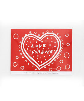 Third Drawer Down X Yayoi Kusama, Love Forever Tea Towel Set Textiles Third Drawer Down
