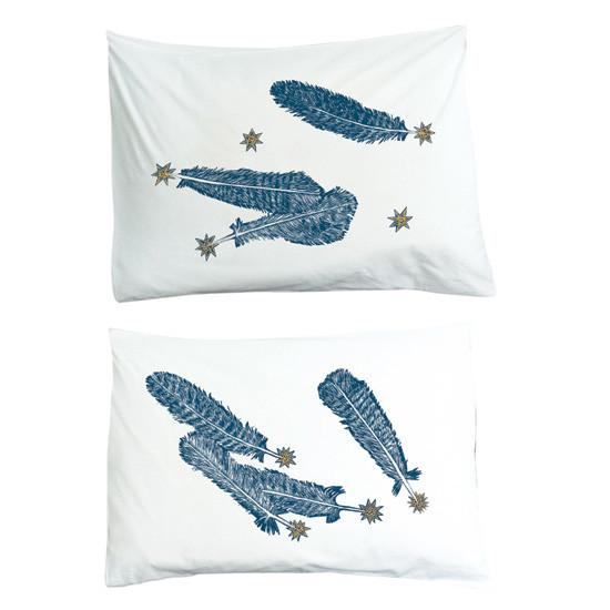Kiki Smith Feather Pillowcase Set