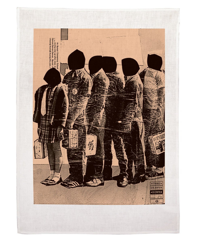 Third Drawer Down X James Gallagher, Lunch Line Tea Towel