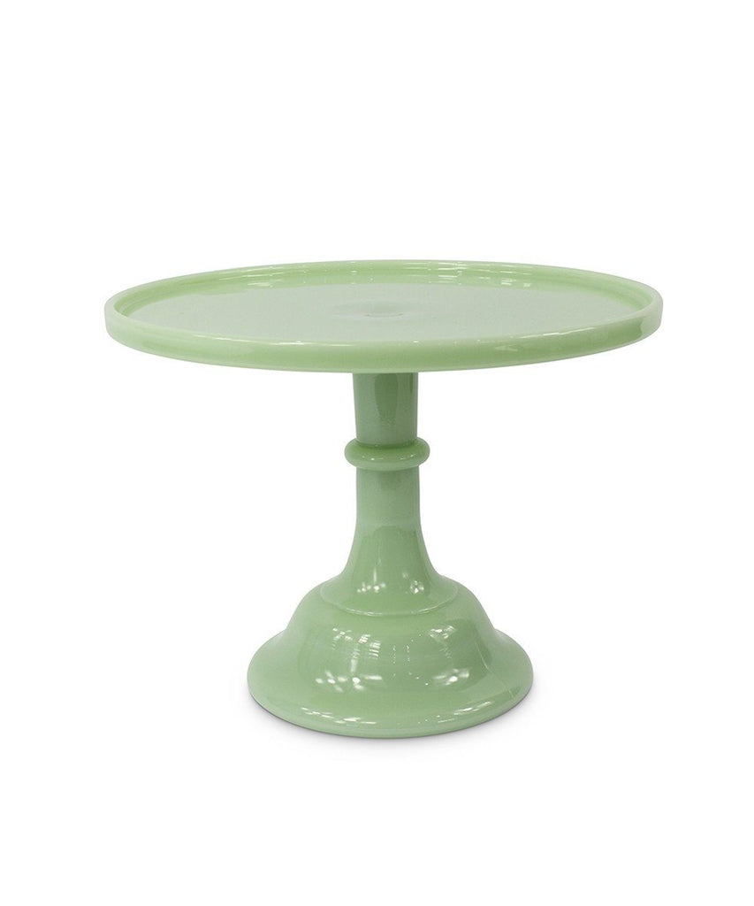 Cake Stand, Jade Other Mosser Glass