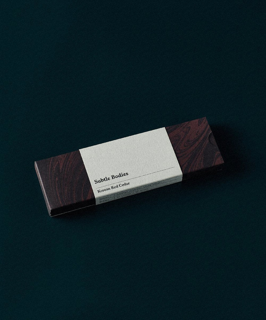 Subtle Bodies, Incense Other Subtle Bodies Korean Red Cedar