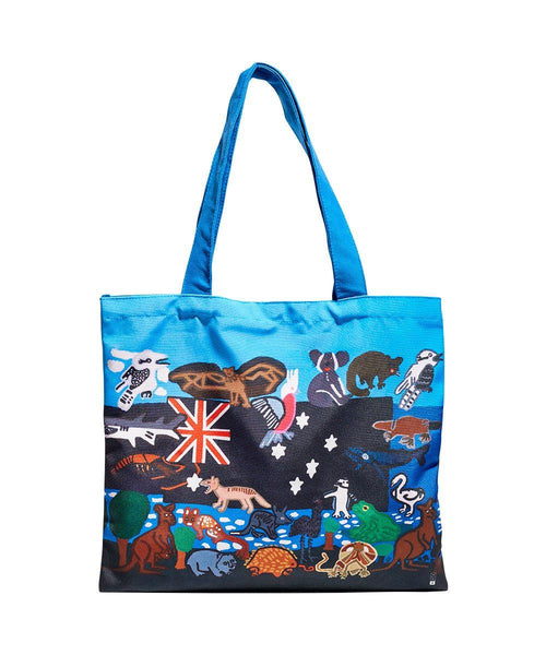 Australian Wedding Gifts For Overseas: Australiana Tote Bag X Arts Project Australia
