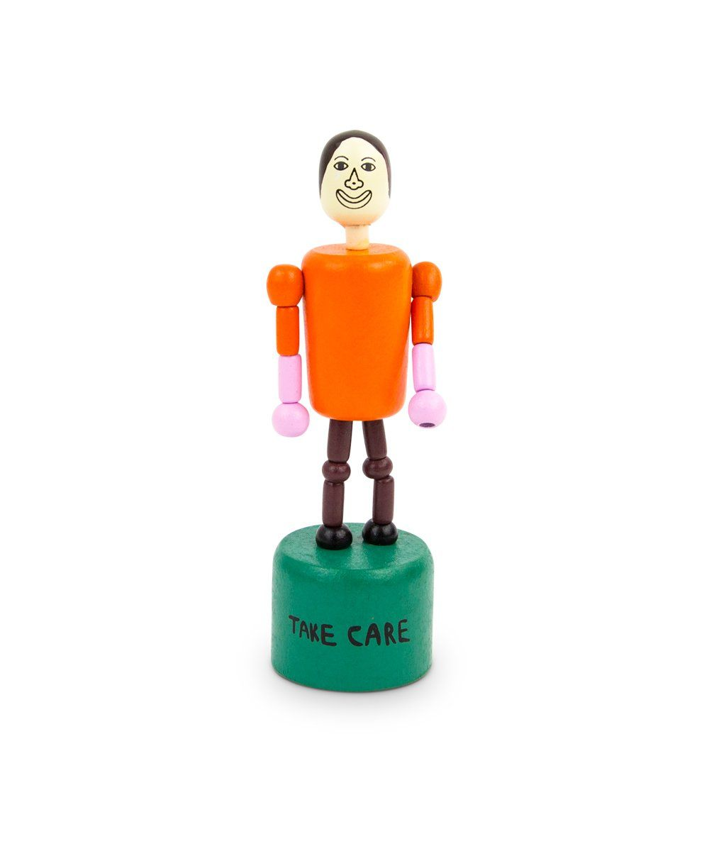 Take Care Push Up Toy x Chris Johanson