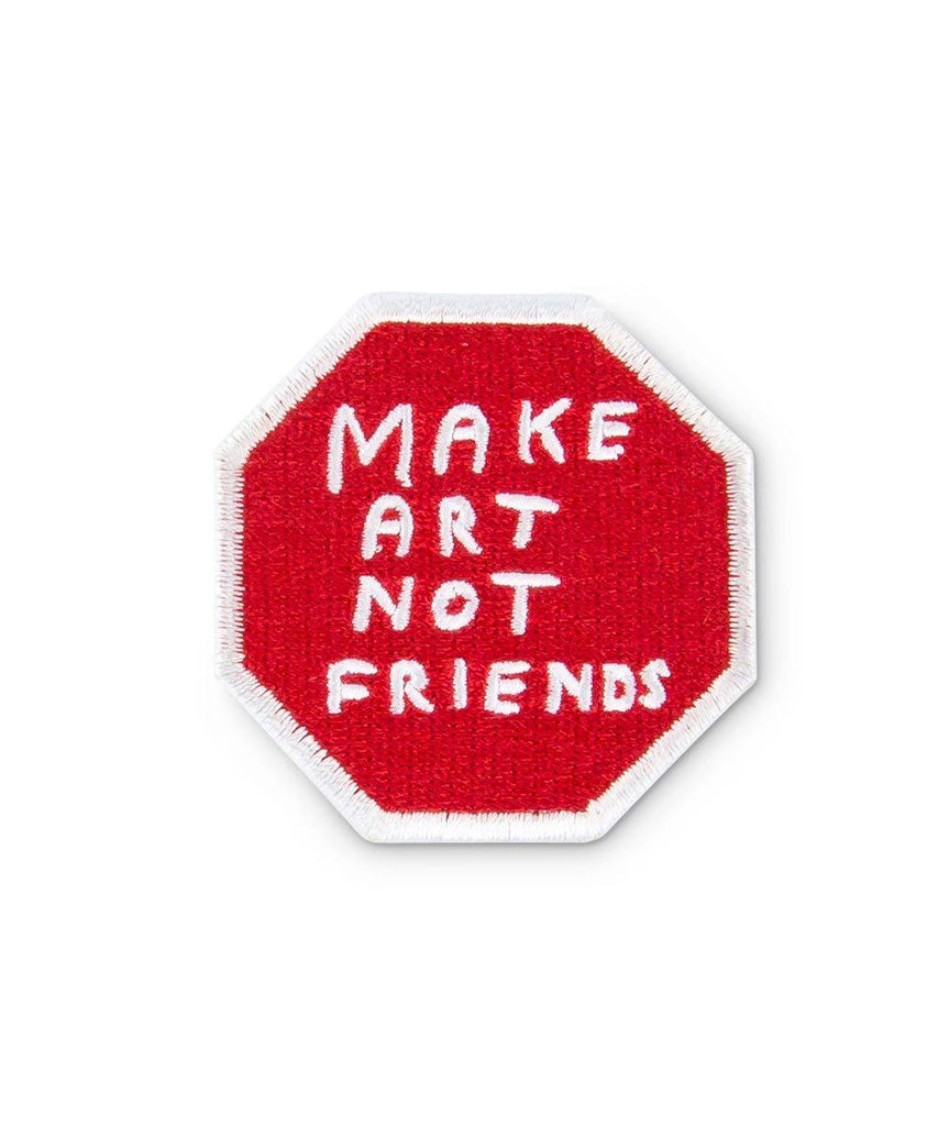 Third Drawer Down X David Shrigley, Make Art Woven Patch Misc Third Drawer Down