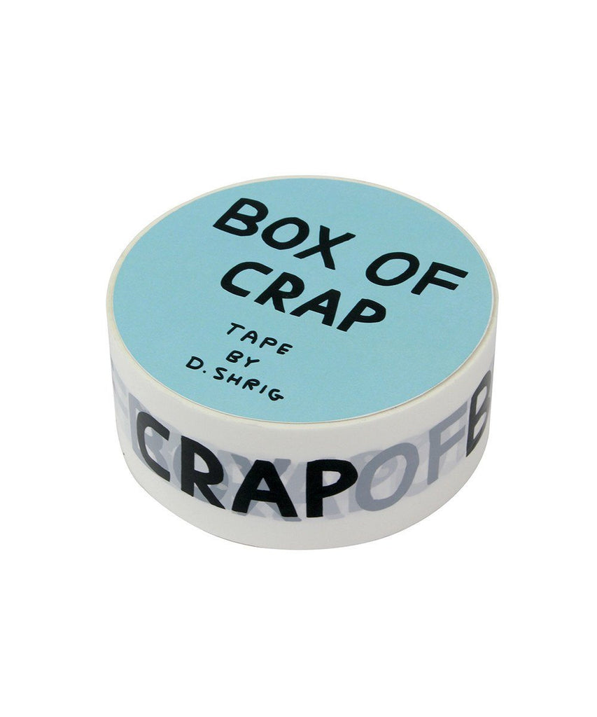 Third Drawer Down X David Shrigley, Box Of Crap Packing Tape