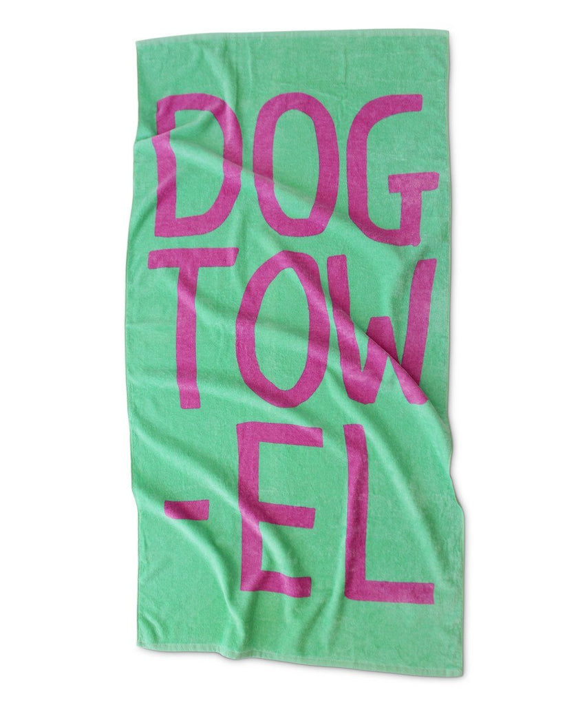 David Shrigley Dog Towel Beach Towel