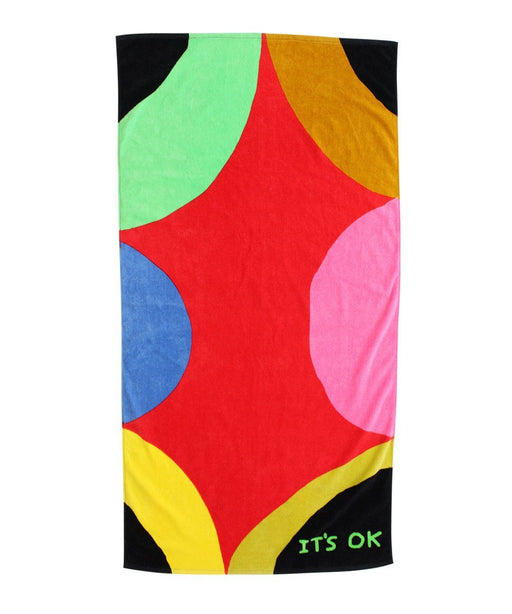 David Shrigley It's Ok Beach Towel
