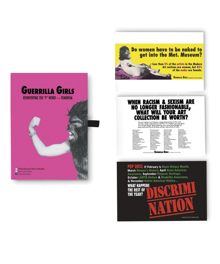 Third Drawer Down X Guerrilla Girls, Postcard Boxset Other Third Drawer Down