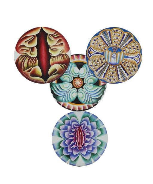 Set of 4 Coasters x Judy Chicago