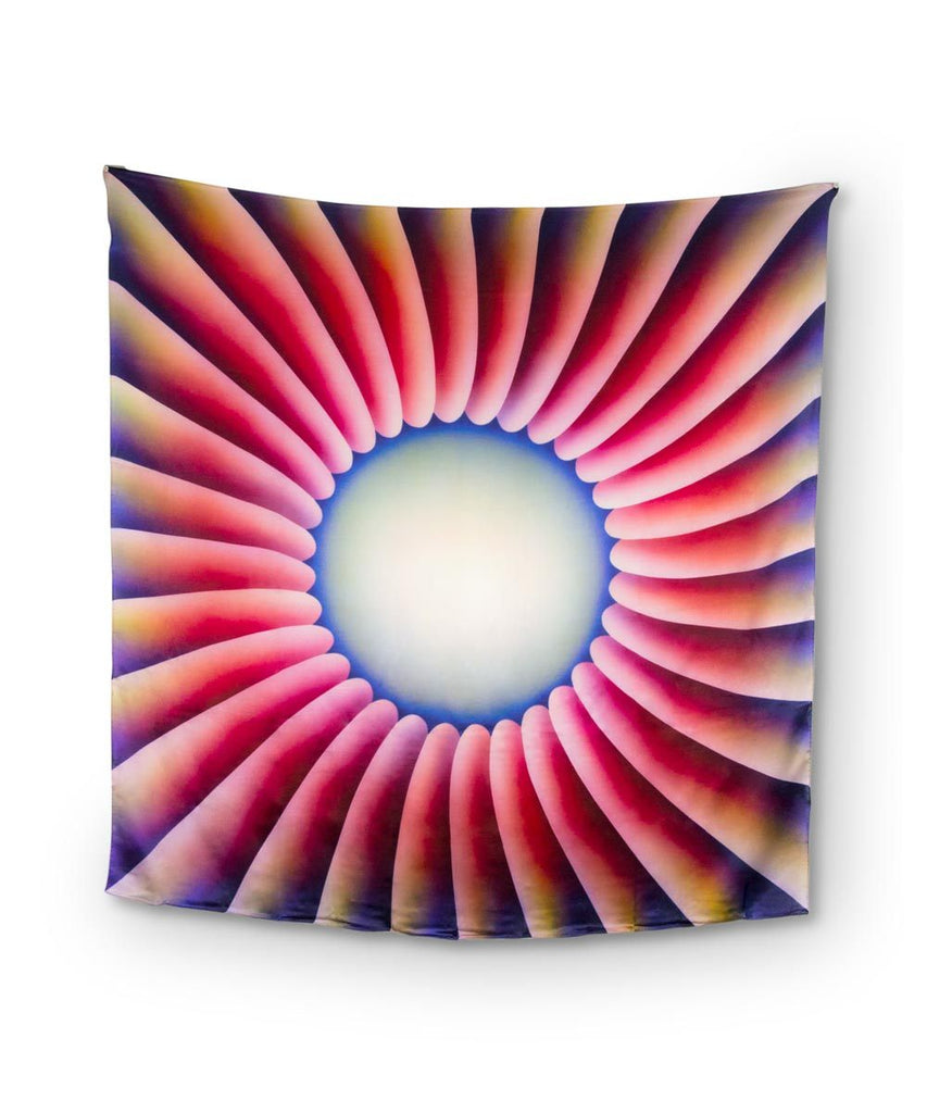 Judy Chicago Silk Scarf