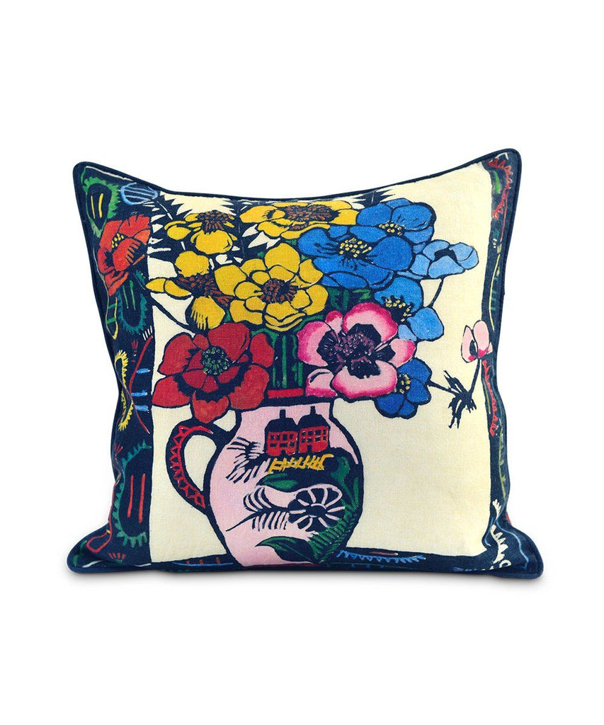 Third Drawer Down X Margaret Preston, Anemones Cushion Cover Textiles Third Drawer Down