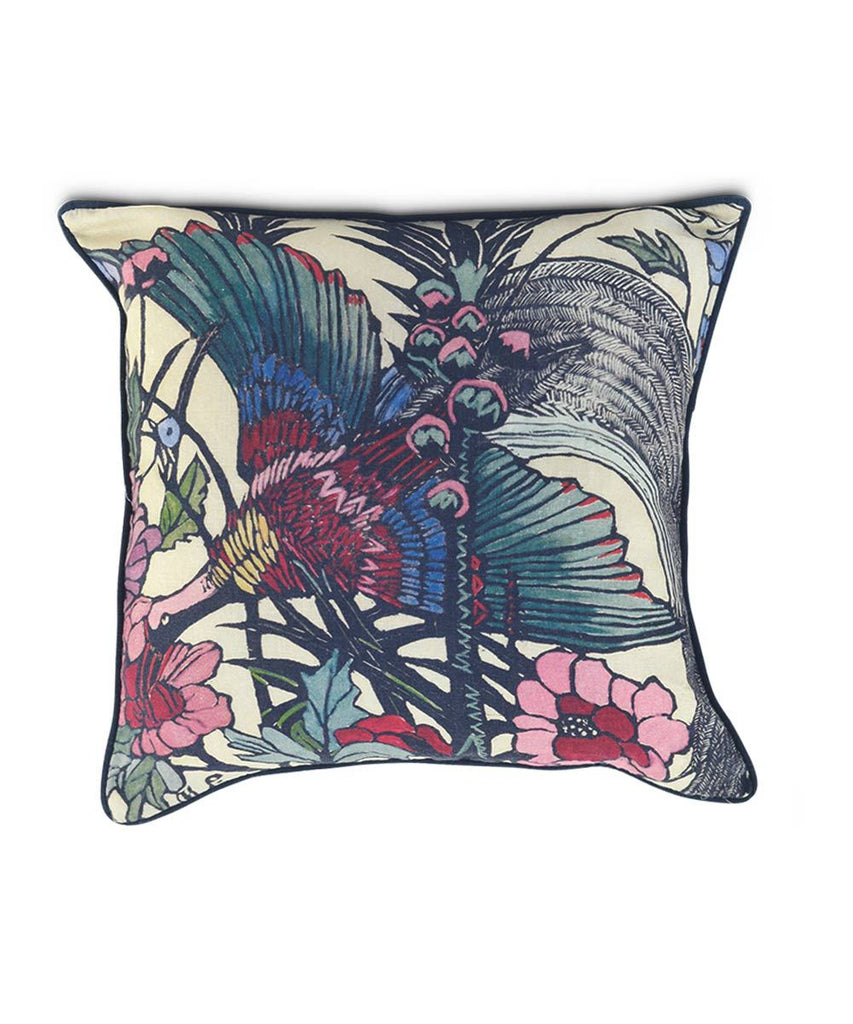 Third Drawer Down X Margaret Preston, Bird of Paradise Cushion Cover
