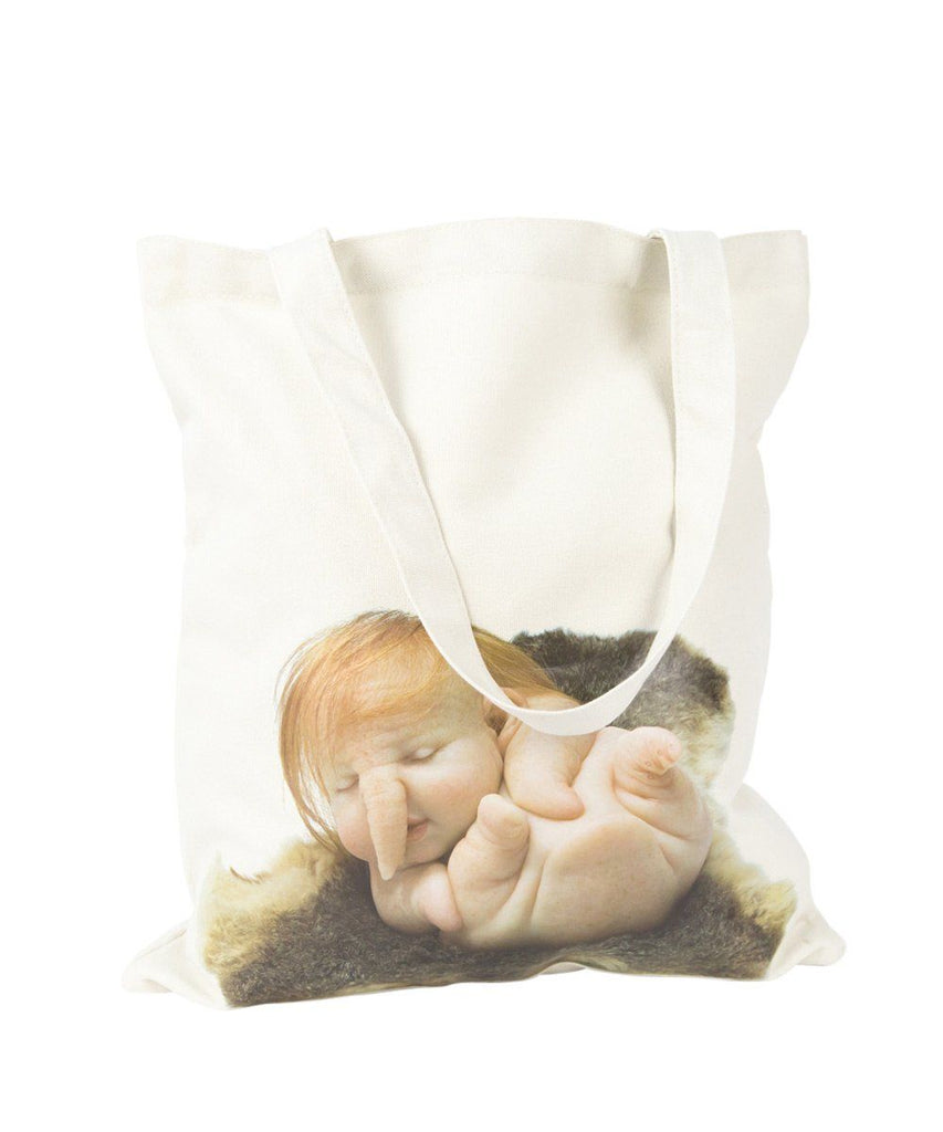 Third Drawer Down X Patricia Piccinini, Newborn Tote Bag