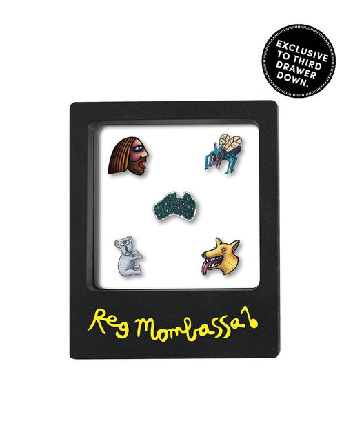 5 Piece Pin Set x Reg Mombassa