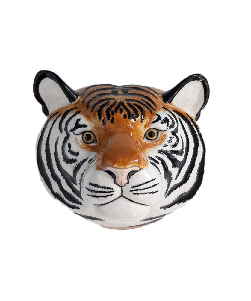 Tiger Wall Vase Ceramic QUA