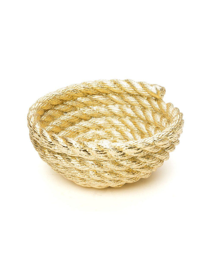 Areaware, Coil Rope Bowl Other UNT Gold