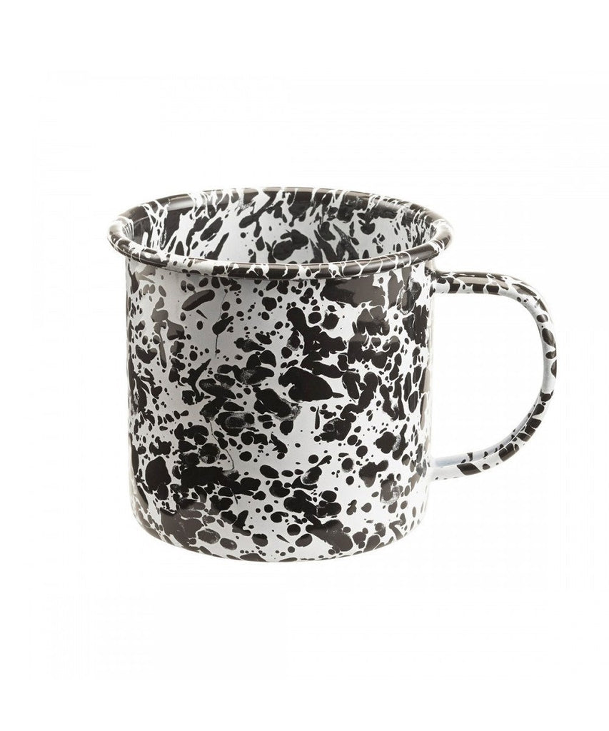Enamelware Mug Metal crow canyon Black
