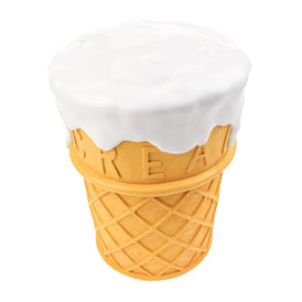 Giant Ice Cream Stool Plastic ROT Default Title