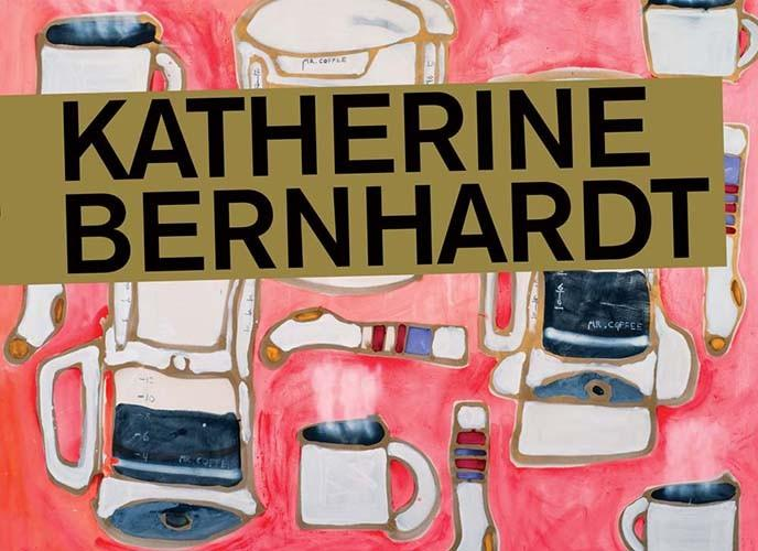 Katherine Bernhardt Paper Books at Manic Default