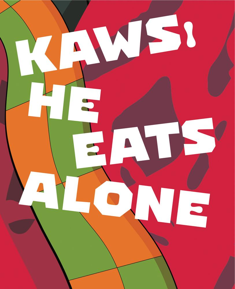 KAWS: He Eats Alone Default Books at Manic Default