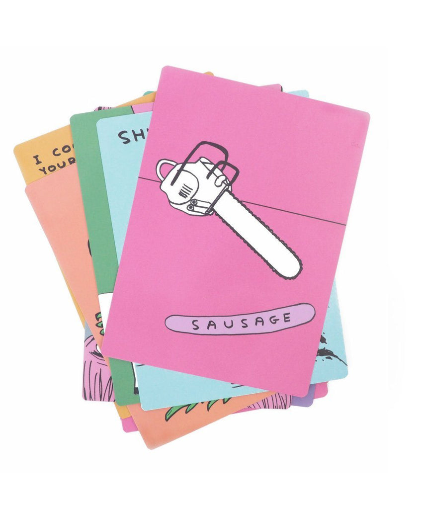 Sh*ts & Sausages Snap Card Game x David Shrigley Paper Third Drawer Down