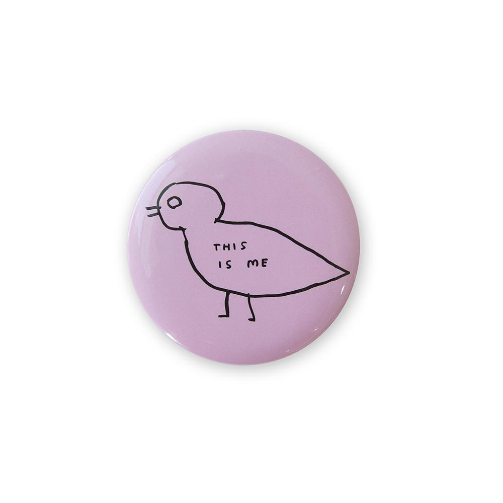 This Is Me Pocket Mirror x David Shrigley accessories Third Drawer Down