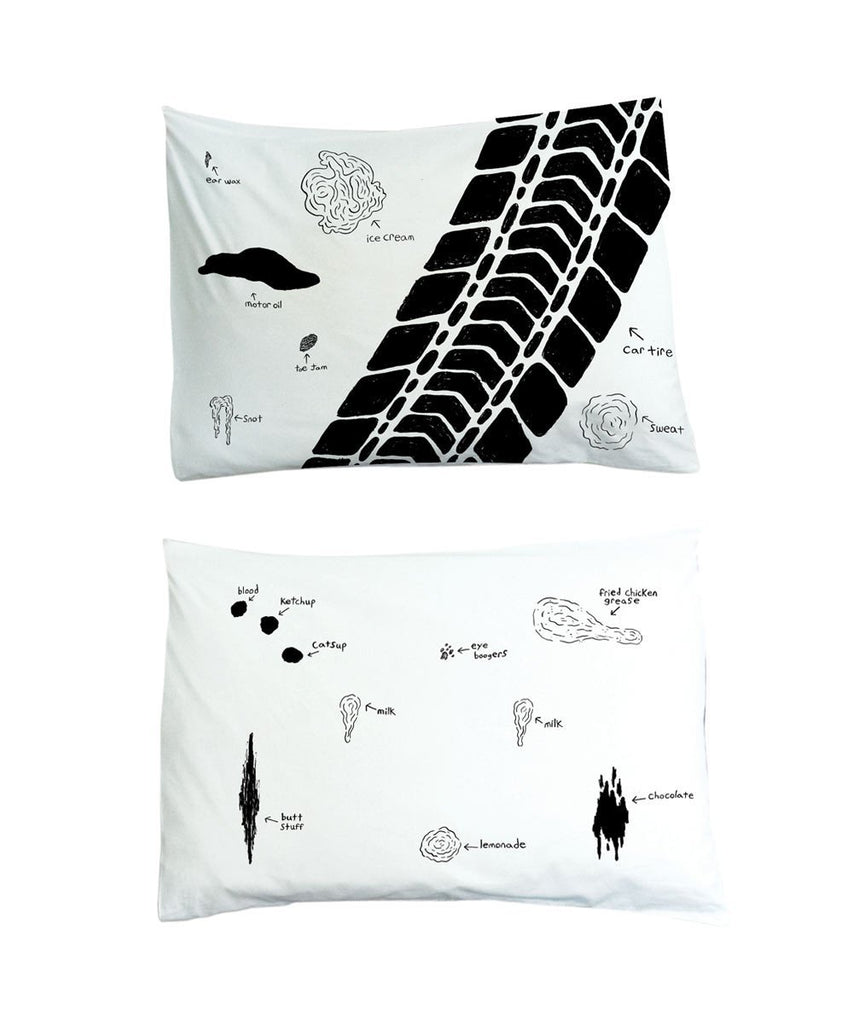 Stains Pillowcases X Andrew Jeffery Wright