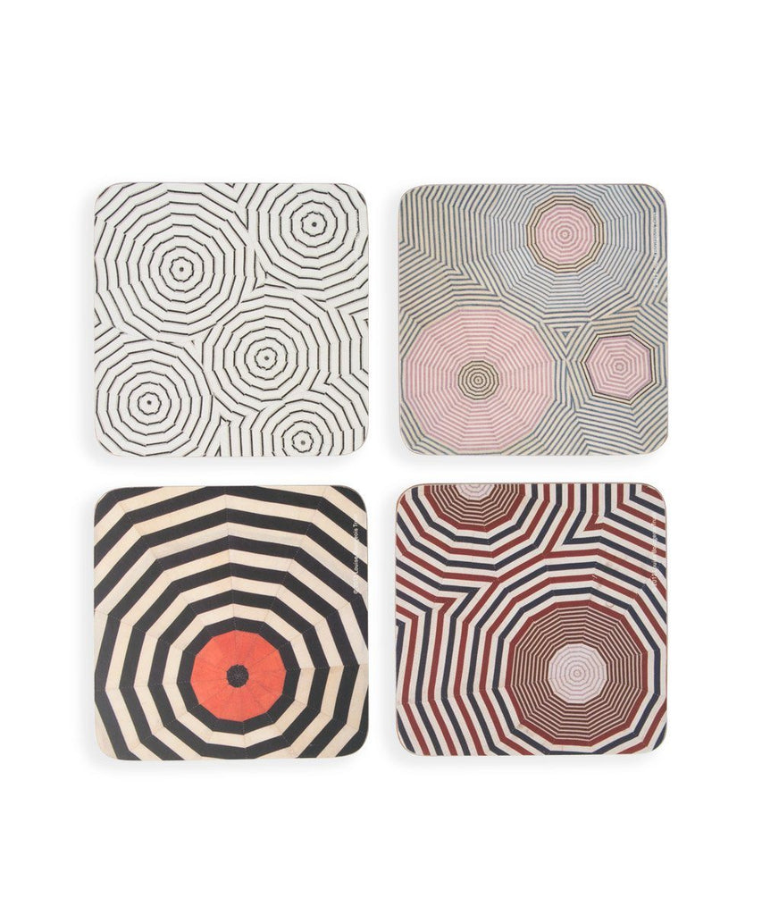 Third Drawer Down X Louise Bourgeois, Corkboard Coaster Set Wood Third Drawer Down