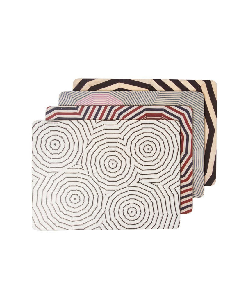 Third Drawer Down X Louise Bourgeois, Corkboard Placemat Gift Set Wood Third Drawer Down