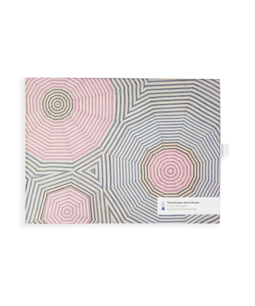 Third Drawer Down X Louise Bourgeois, Corkboard Placemat Gift Set