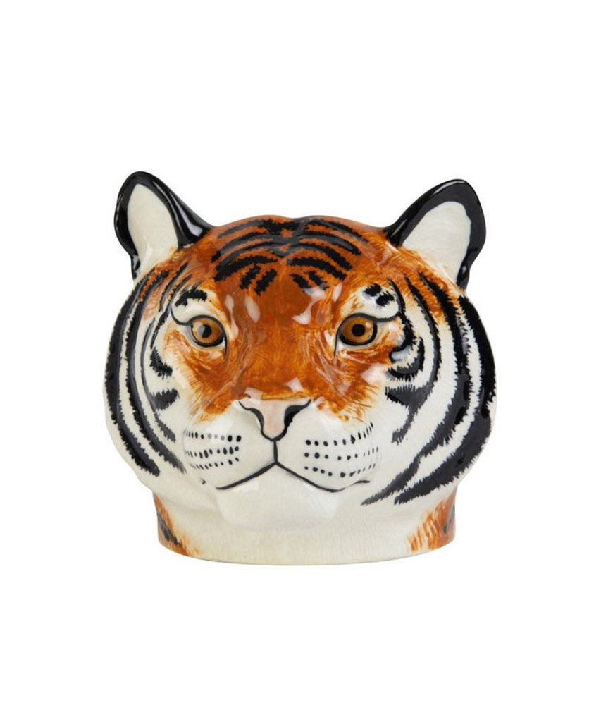 Tiger Face Ceramic Egg Cup-Third Drawer Down
