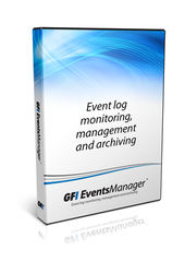 GFI EventsManager for 10 Nodes Including 3 Years Software Maintenance Agreement