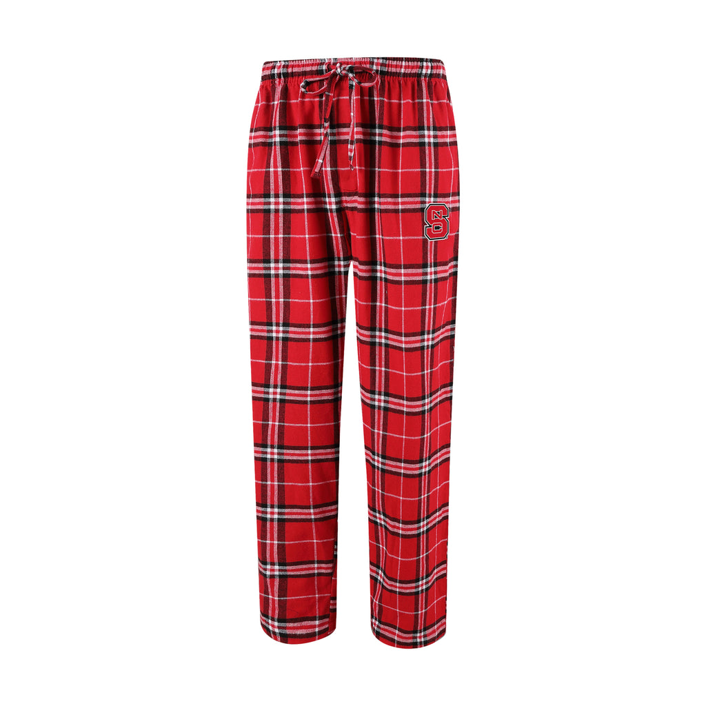 NC State Wolfpack Men's Huddle Flannel Pants