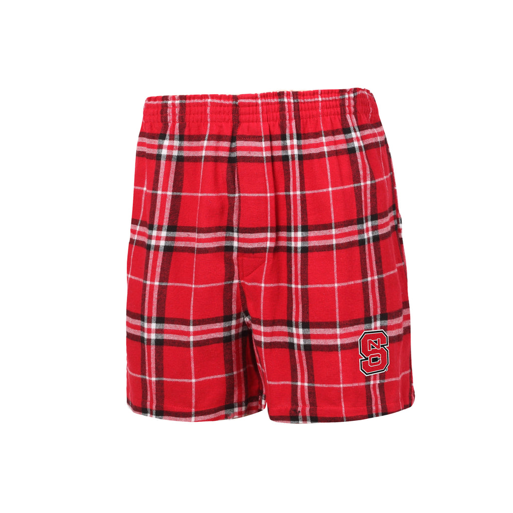 NC State Wolfpack Men's Huddle Flannel Boxers
