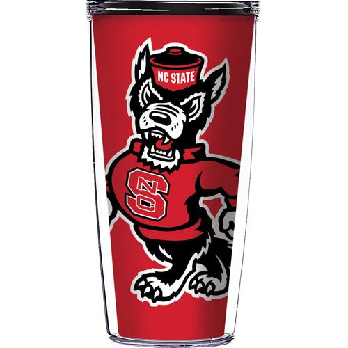 NC State Wolfpack Red Strutting Wolf 22oz Tumbler