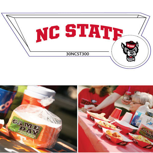 NC State Wolfpack Food Tray 25pk