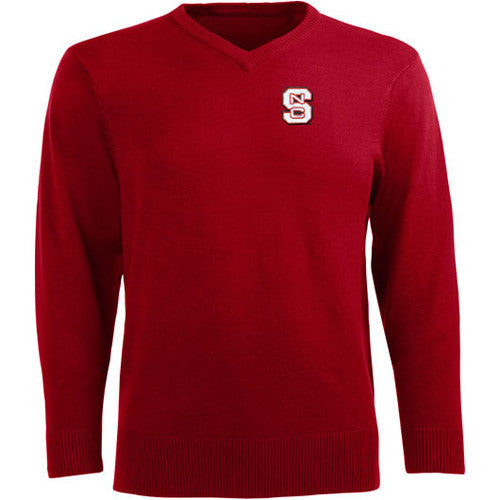 NC State Wolfpack Red Antigua® Ambassador Sweater