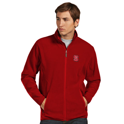 NC State Wolfpack Antigua Ice Full Zip Jacket