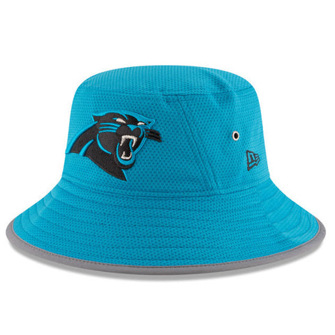 Carolina Panthers 2016 New Era Blue Training Bucket Hat