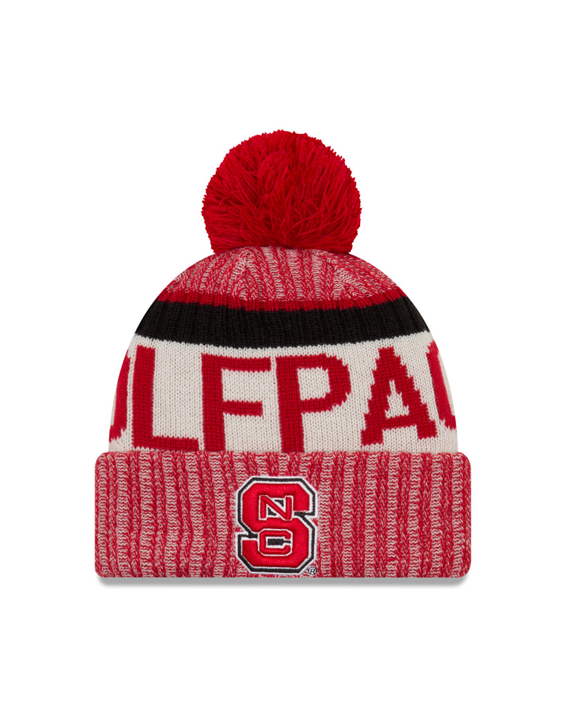 8d7d0f7ae1bb01 low cost nc state wolfpack new era sport pom knit hat a36c4 9f111